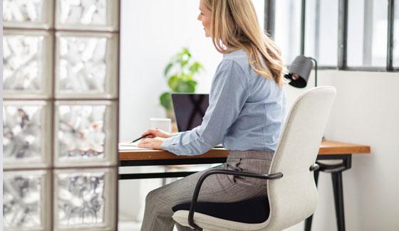 Cuscino Anatomico Per Sedia Ufficio.Cuscino Per Seduta Tempur Ideale Per Le Sedie D Ufficio